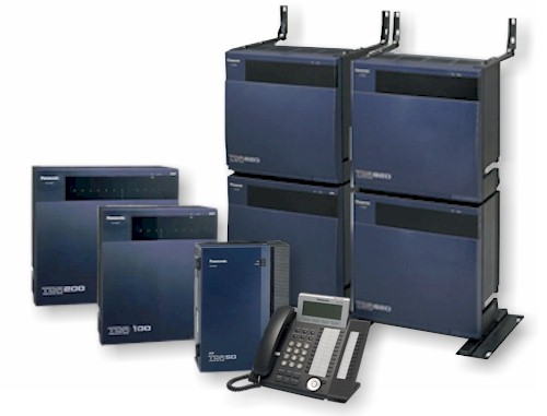 There are 4 models that make up the Panasonic KX-TDA Series IP PBX